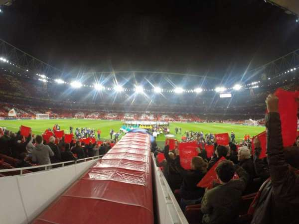 Emirates Stadium, section: 32, row: 17