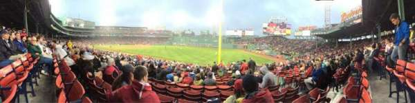 Fenway Park, section: Right Field Box 94, row: RR
