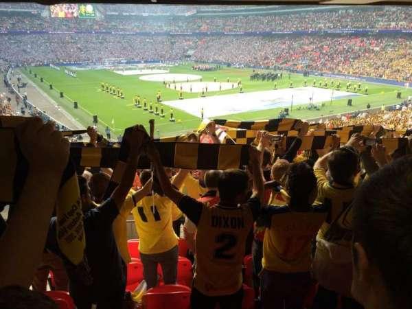 Wembley Stadium, section: 115, row: 44, seat: 97
