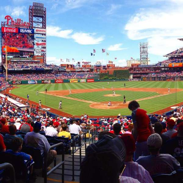 Citizens Bank Park, section: 123, row: 31, seat: 11