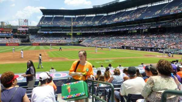 Turner Field, section: 114L, row: 13, seat: 101