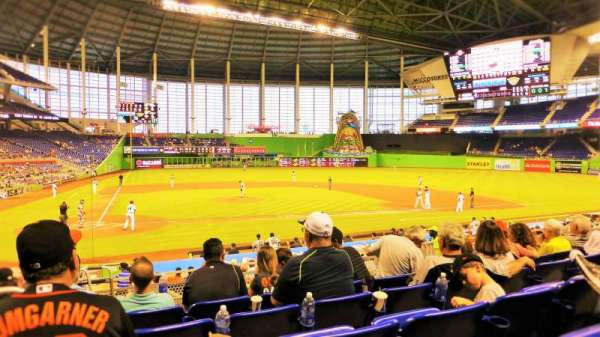 Marlins Park, section: 10, row: 5, seat: 19