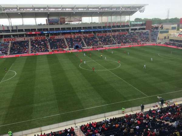 SeatGeek Stadium, section: 208, row: 7, seat: 25