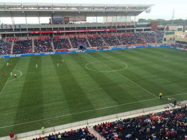 SeatGeek Stadium, section: 208, row: 7, seat: 1