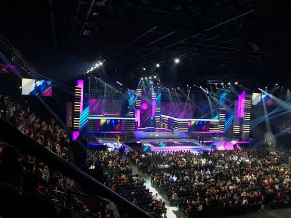 Mandalay Bay Events Center, section: 211, row: E, seat: 7
