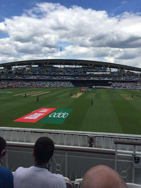 Kia Oval, section: Pavilion Balcony, row: D, seat: 60