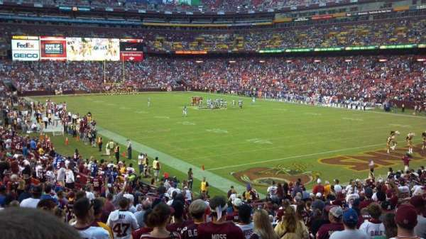 FedEx Field, section: 136, row: 27, seat: 1