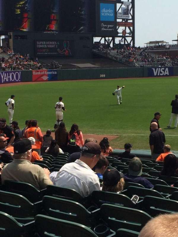 AT&T Park, section: 128, row: 16, seat: 1