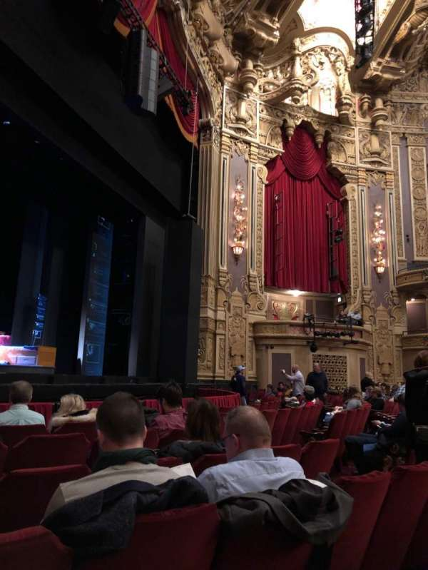 Nederlander Theatre (Chicago), section: Orchestra L, row: G, seat: 19