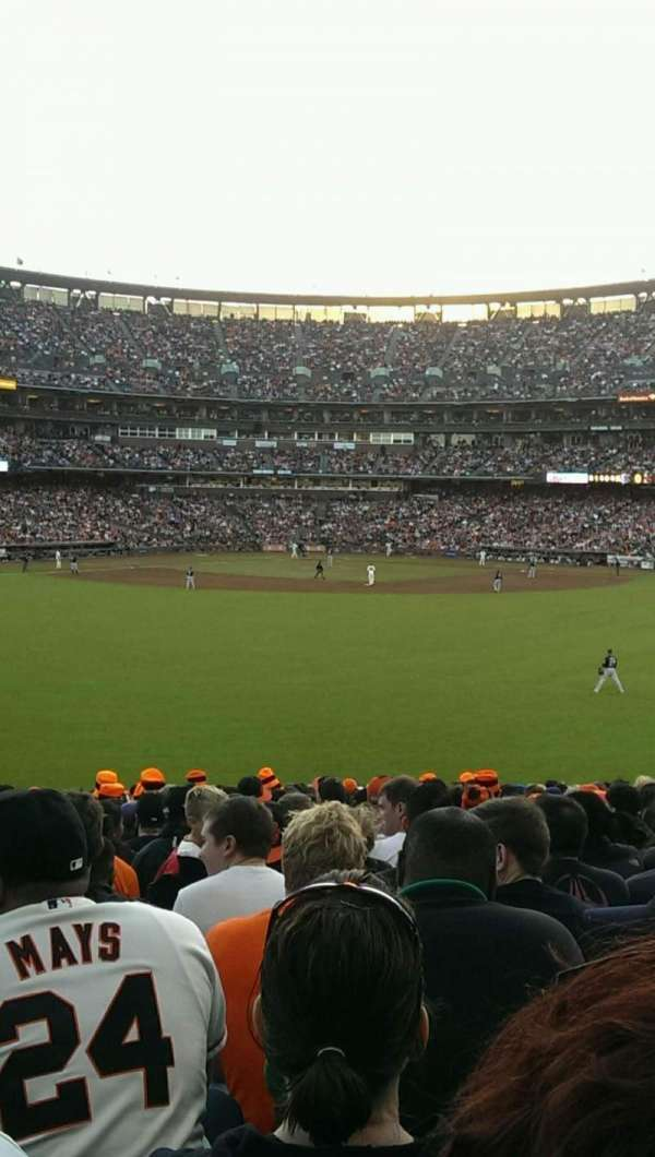 Oracle Park, section: 144, row: 27, seat: 10