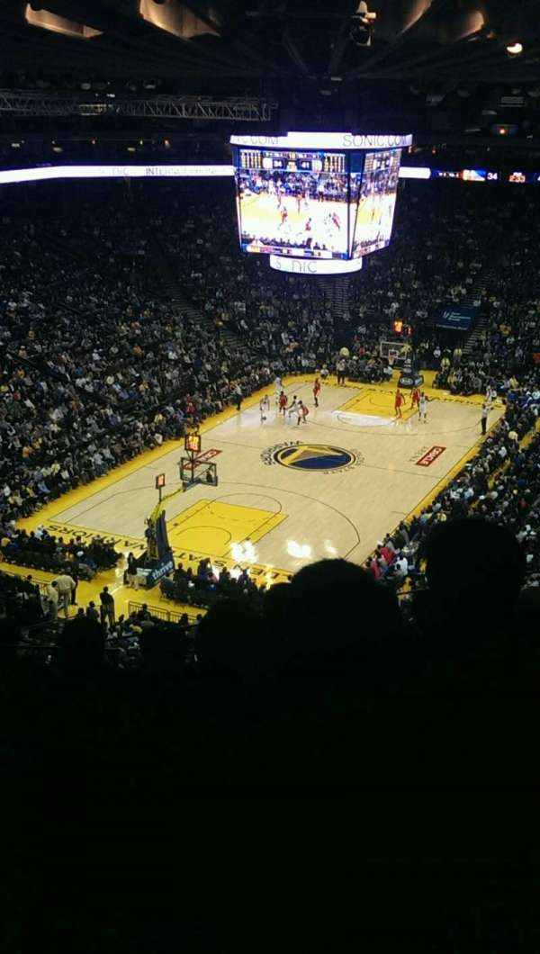 Oakland Arena, section: 205, row: 8, seat: 13