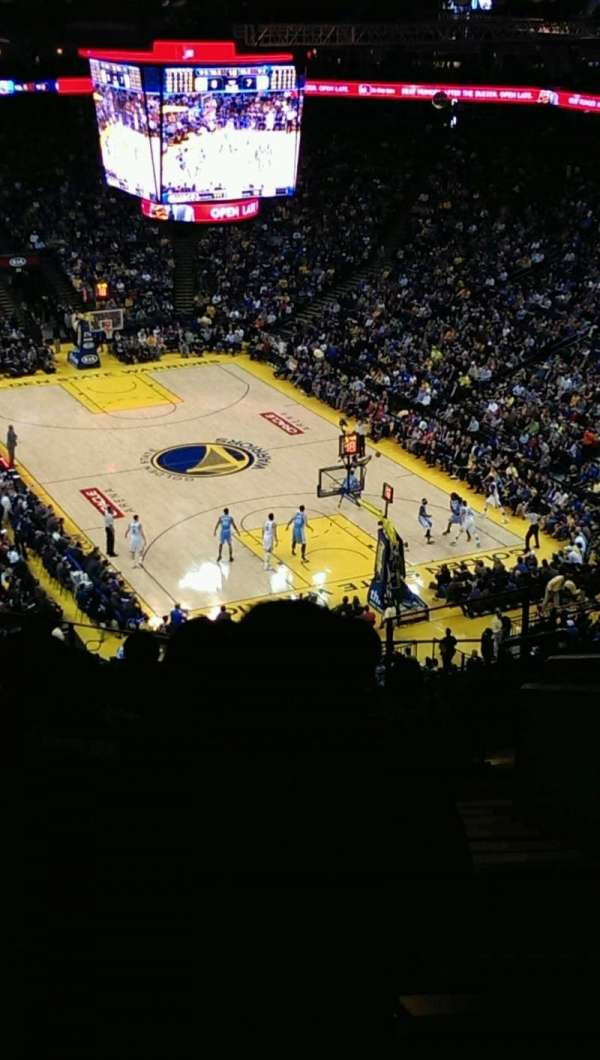 Oakland Arena, section: 227, row: 10, seat: 1