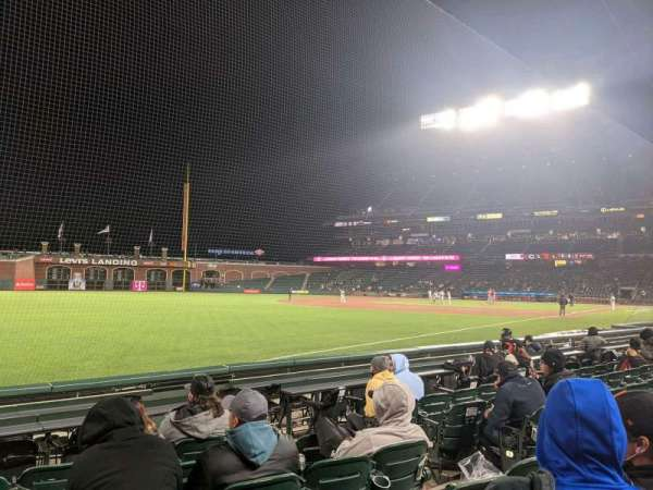 Oracle Park, section: 130, row: 7, seat: 6