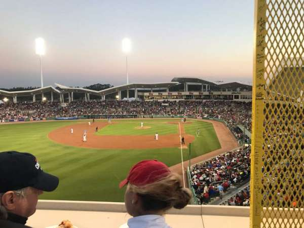 JetBlue Park, section: Monster, row: SR