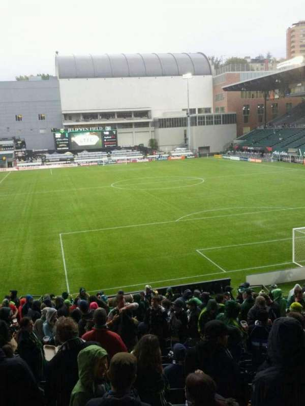 Providence Park, section: 105, row: r, seat: 8