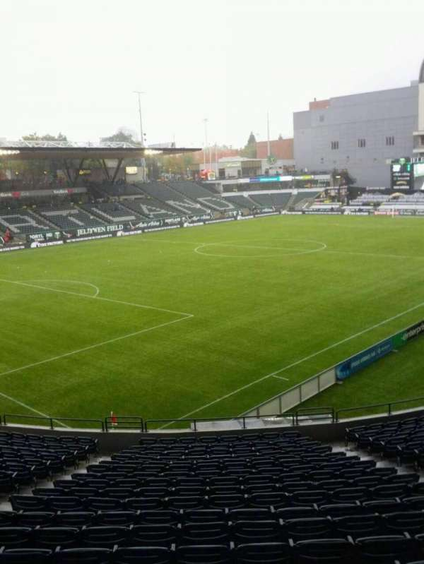 Providence Park, section: 112, row: r, seat: 9