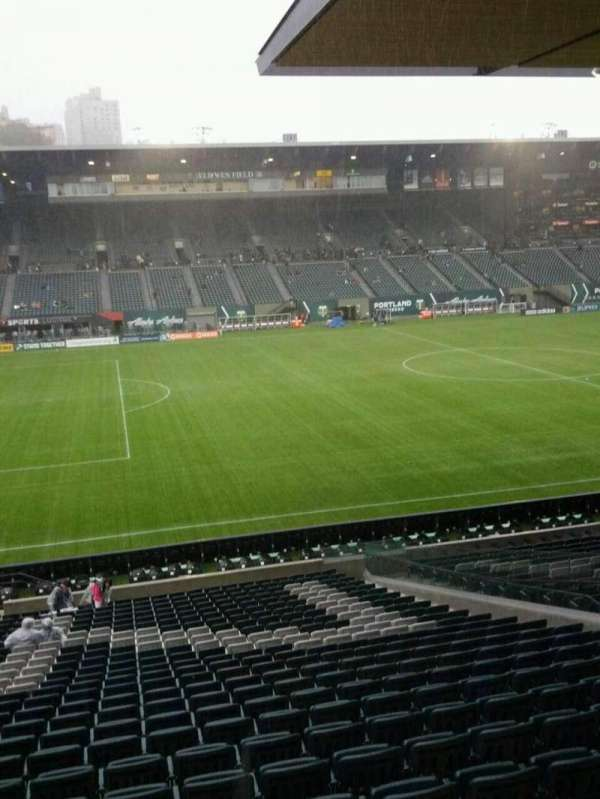 Providence Park, section: 96, row: x, seat: 8