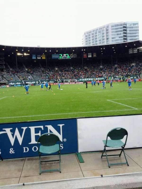 Providence Park, section: Sd2, row: b, seat: 16