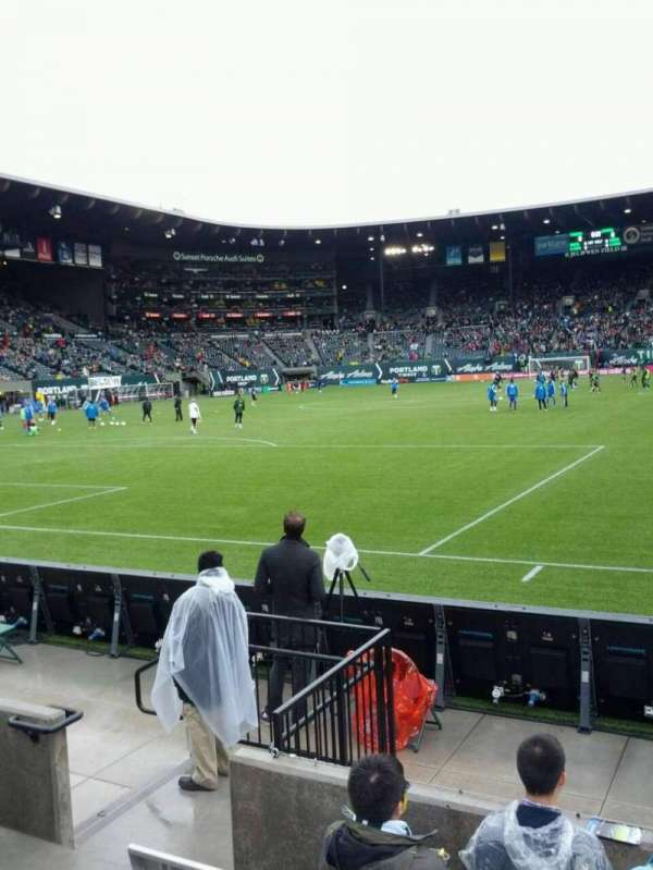 Providence Park, section: SD6, row: c, seat: 7