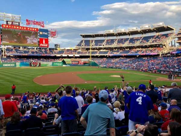 Nationals Park, section: 115, row: EE, seat: 16