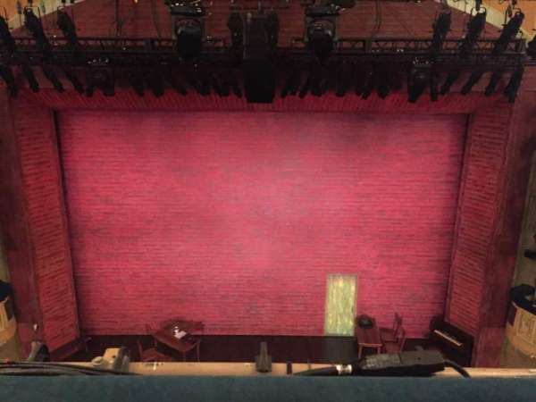 Shubert Theatre, section: Balcony Center, row: A, seat: 107