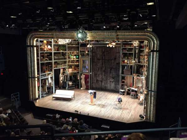 Laura Pels Theatre, section: Rear Mezzanine Right, row: CC, seat: 2