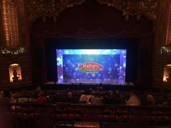 The Fabulous Fox Theatre (St. Louis), section: BA04, row: A, seat: 102
