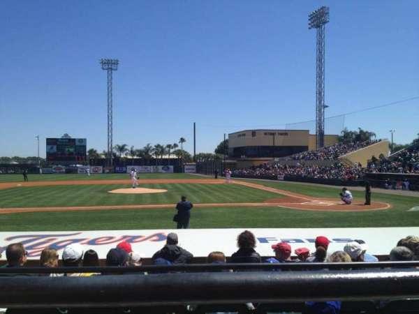 Joker Marchant Stadium, section: 210, row: A, seat: 8
