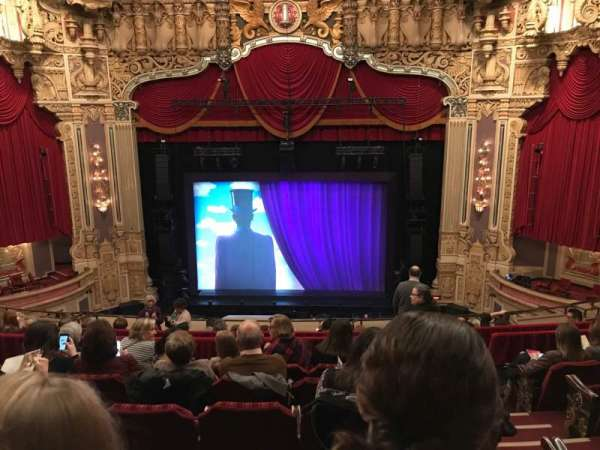 Oriental Theatre, section: Balc-c, row: K, seat: 309