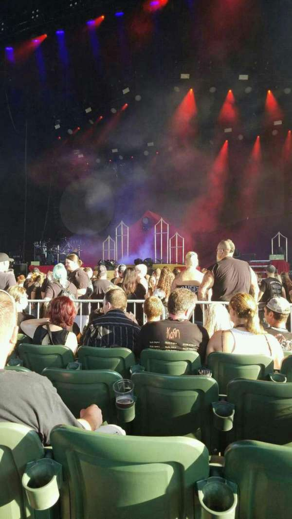 S&T Bank Music Park, section: 2, row: M, seat: 6