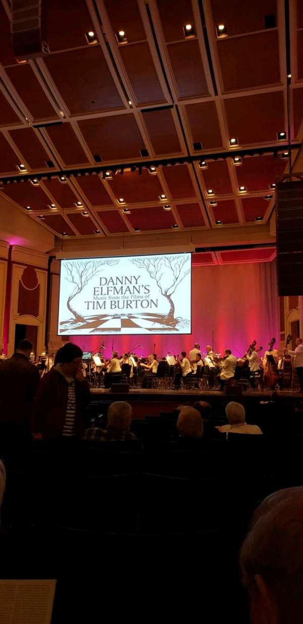 Heinz Hall, section: ORCH R, row: P, seat: 10