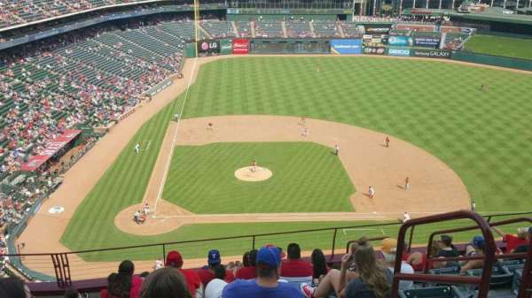 Globe Life Park in Arlington, section: 331, row: 11, seat: 15