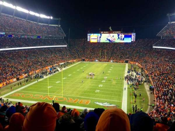 Broncos Stadium at Mile High, section: 321, row: 16, seat: 12