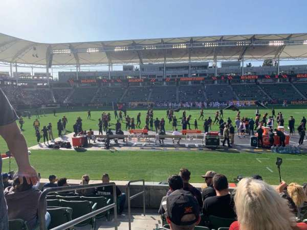 Dignity Health Sports Park, section: 132, row: H, seat: 20