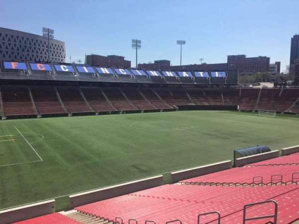 Nippert Stadium, section: 126, row: 32, seat: 12