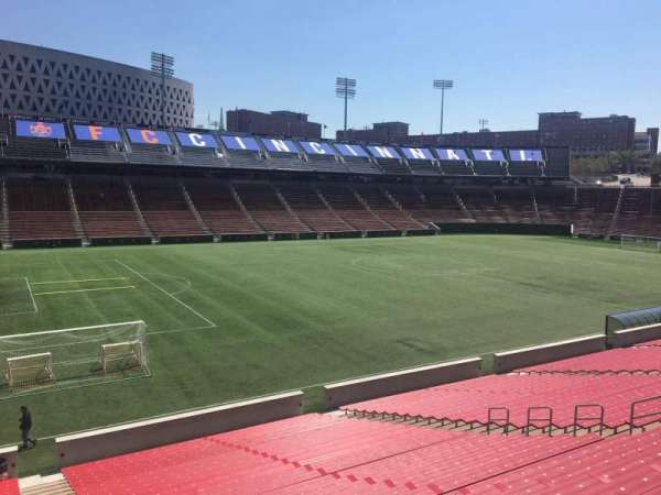Nippert Stadium, section: 127, row: 32, seat: 1