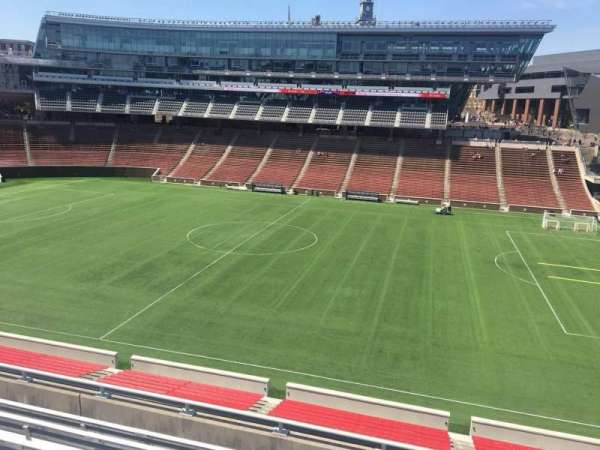 Nippert Stadium, section: 204, row: 7, seat: 1