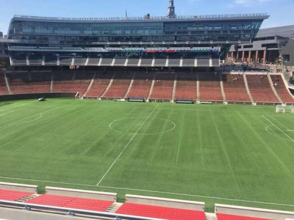 Nippert Stadium, section: 205, row: 8, seat: 1