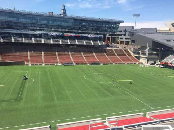 Nippert Stadium, section: 209, row: 8, seat: 1