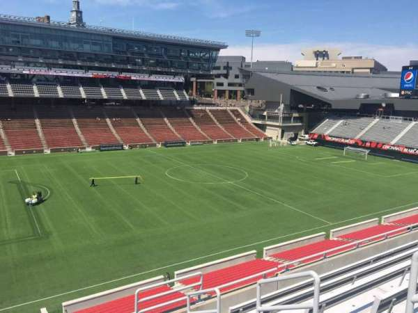 Nippert Stadium, section: 210, row: 8, seat: 1
