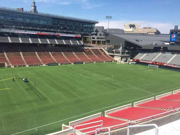 Nippert Stadium, section: 211, row: 8, seat: 1