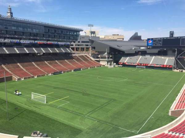 Nippert Stadium, section: 215, row: 8, seat: 1