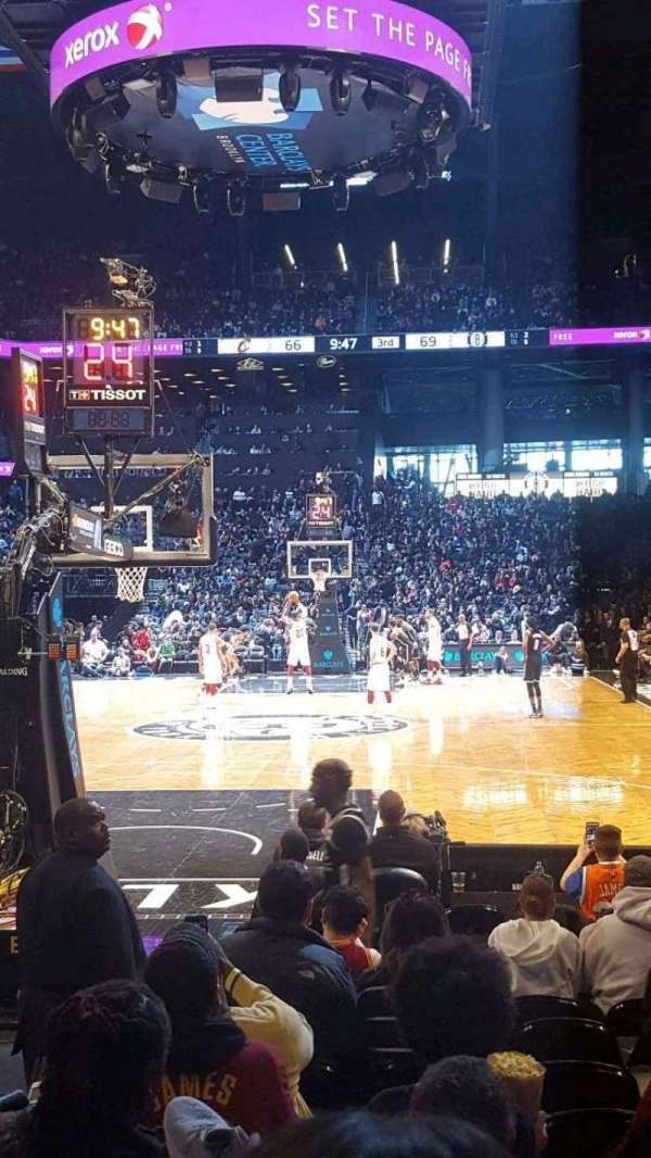 Barclays Center, section: 16, row: 5, seat: 4