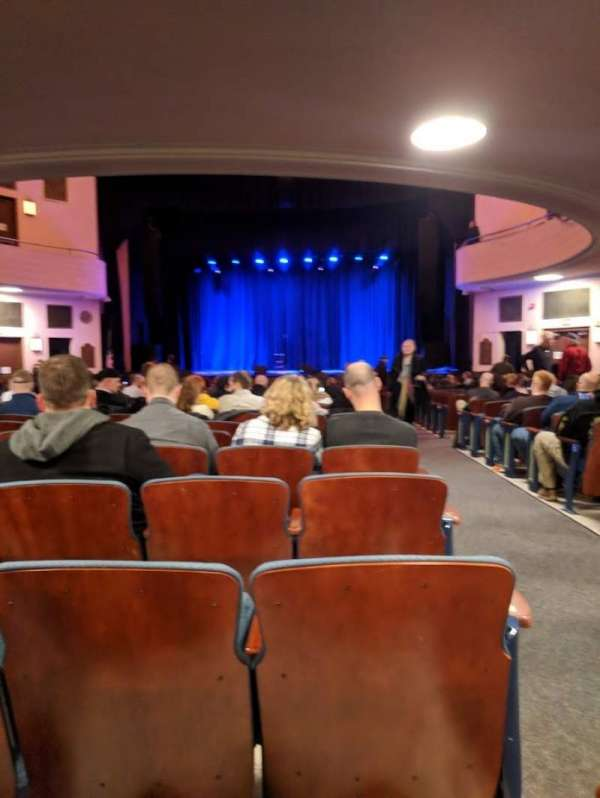 Chevalier Theatre, section: Orchestra Center, row: AA, seat: 101