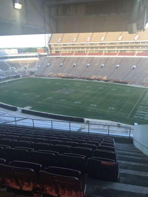 Davis Wade Stadium, section: 201, row: 10, seat: 02