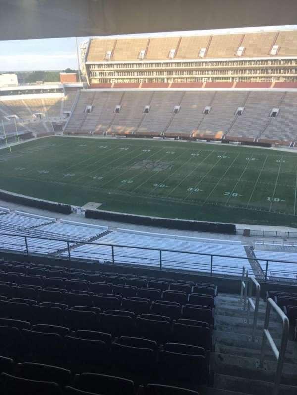 Davis Wade Stadium, section: 203, row: 09, seat: 01