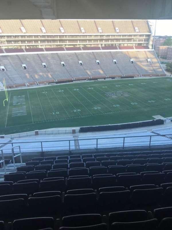 Davis Wade Stadium, section: 209, row: 10, seat: 12