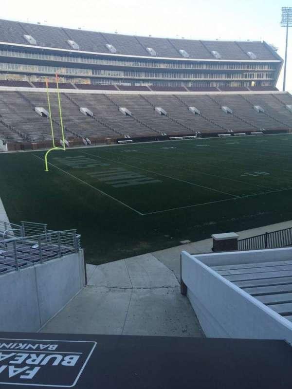 Davis Wade Stadium, section: 08, row: 01, seat: 02