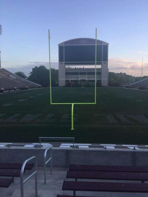 Davis Wade Stadium, section: 11, row: 10, seat: 28