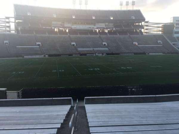 Davis Wade Stadium, section: 22, row: 17, seat: 29